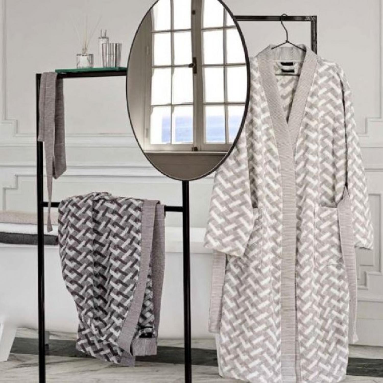01 descamps mineral bathrobe
