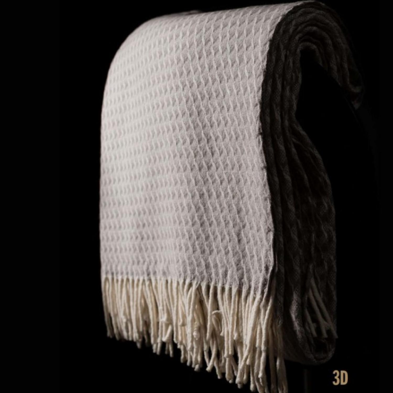 cashmere blanket 3d