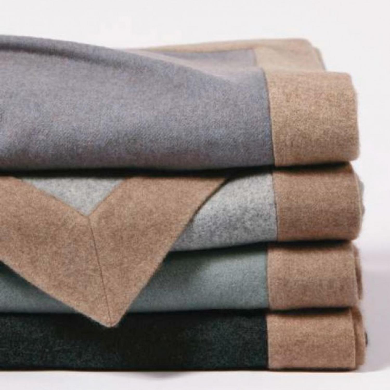cashmere blanket constrast frame