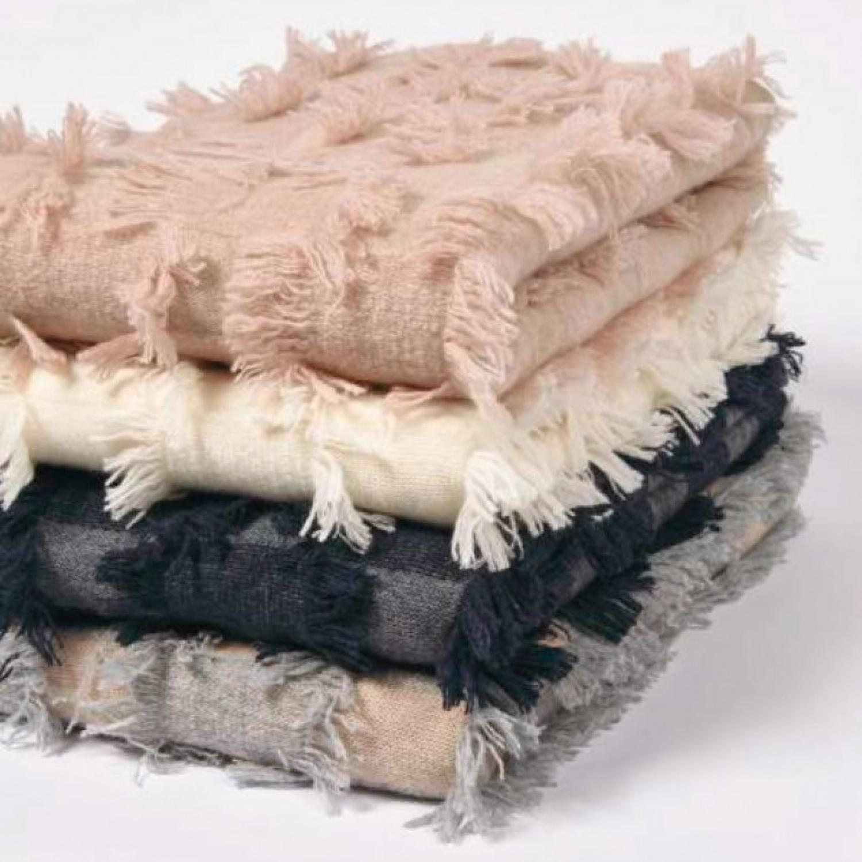 cashmere blanket flecos