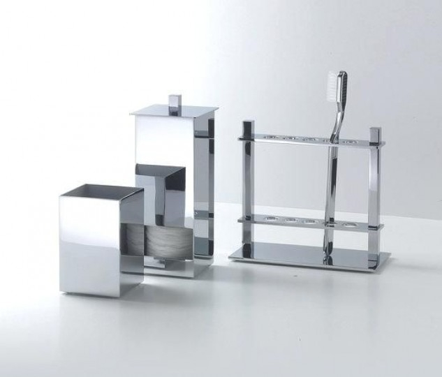 dw vanity set with toothobrush stand