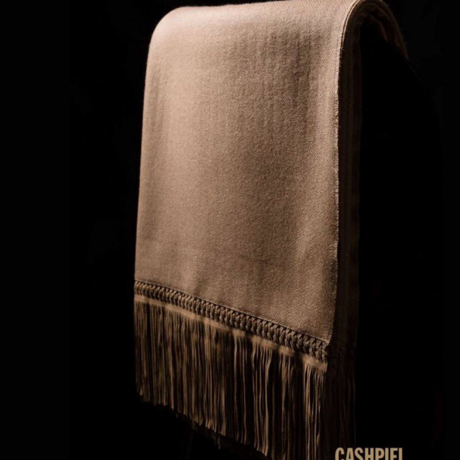 leather and wool throw cashpiel