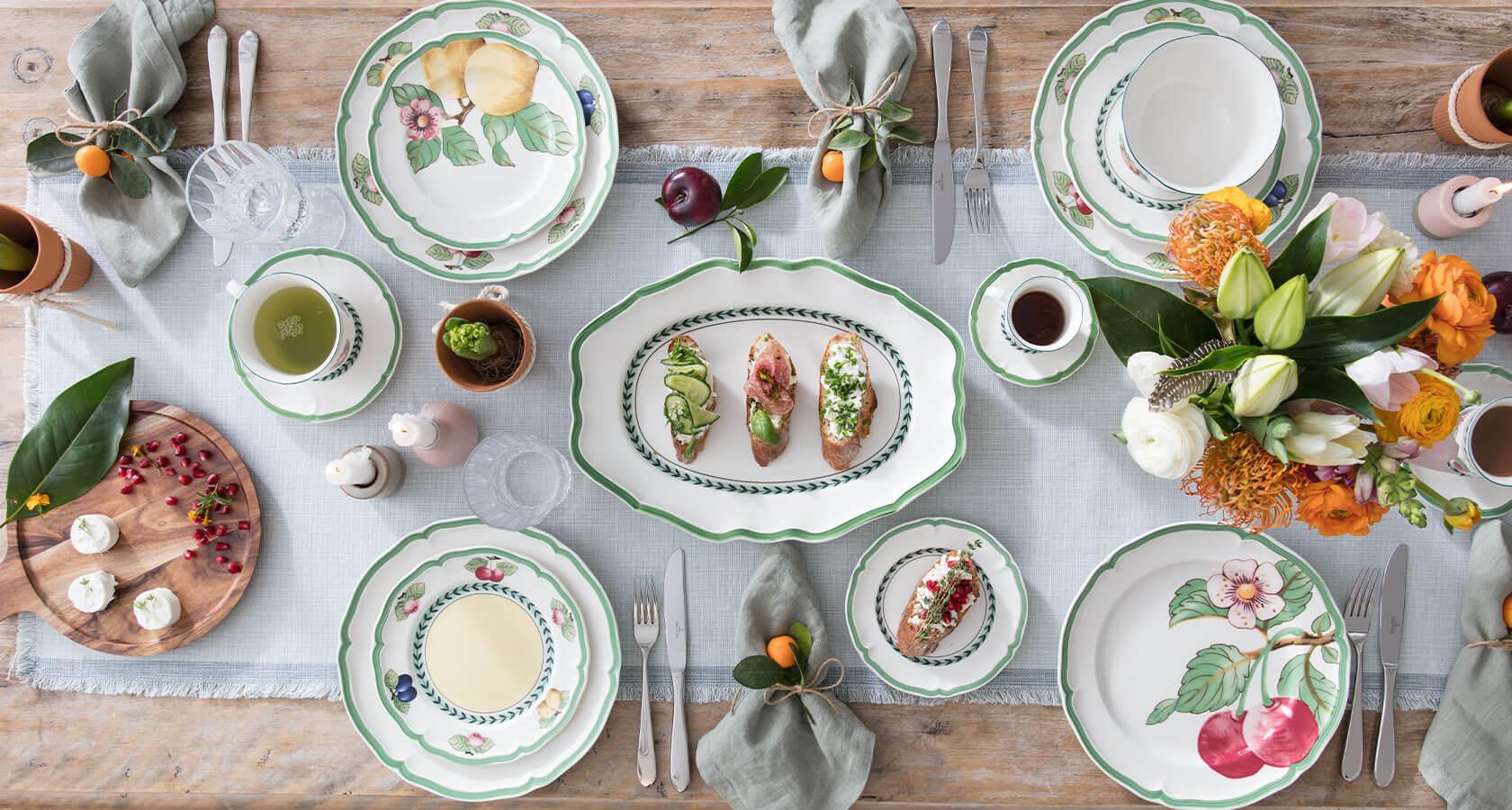 luxury tableware
