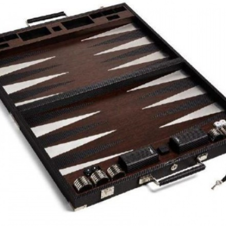 ralph lauren sutton backgammon set