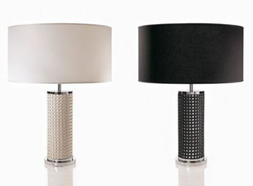 riviere leather lamp