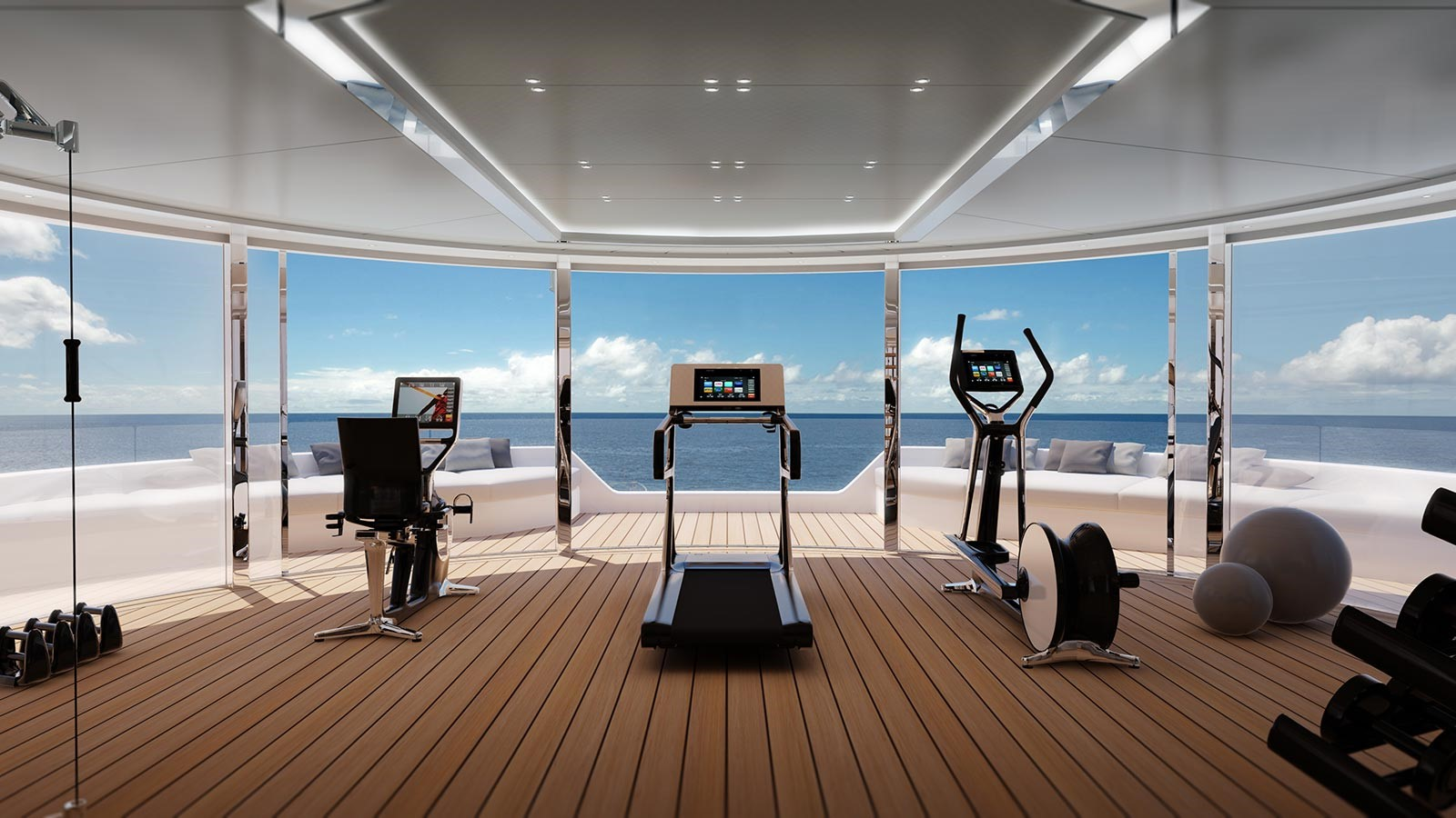 the gym on board fionas atelier1