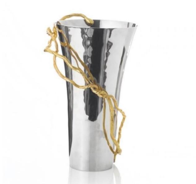 wisteria gold vase 1