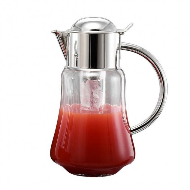 zanetto water jug with ice compartment