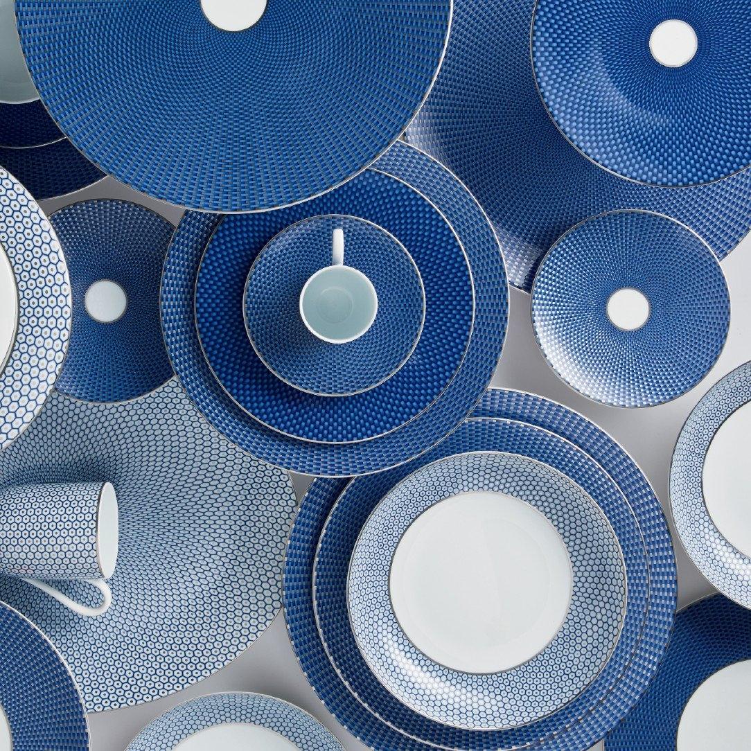Tresor Bleu 2 Amiramour Raynaud Table Crockery Plates Assiette Luxury Limoge