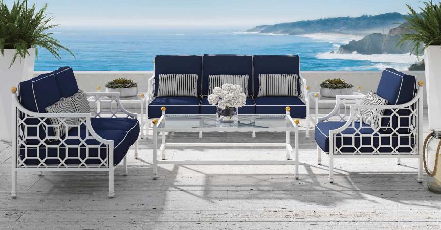 outdoor_furniture_classic_hamptons_design_lounge_chair_table_set_cushion_set