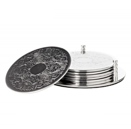 coasters_silver_set_saft_table_accessories_buffet_accessories_home_hotel_restaurant_best_qualit_Fionas_ateliery