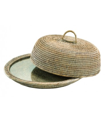 rattan_cloche_tray_container_bar_pub_kitchen_table_accessories_buffet_accessories_home_hotel_restaurant_best_qualit_Fionas_ateliery